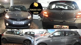 "2019 Tata Tiago XZ+ Dual Tone Review || Automatic AC || Touch Screen || Reverse Parking |15"" Alloys"