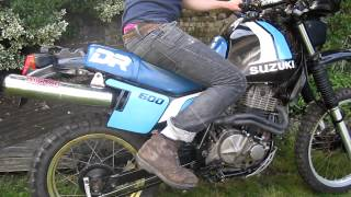 Suzuki DR600 First kick cold start