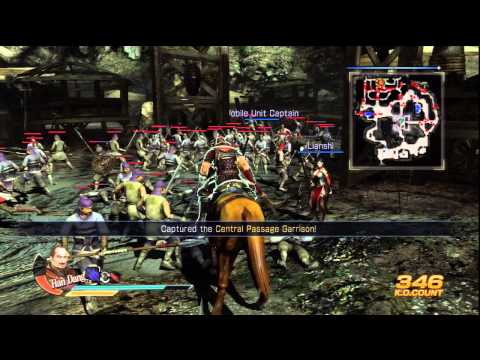 Dynasty Warriors 8 - Wu Part 1 - Battle of Xiangyang [PS3] (Saving Sun Jian Tutorial)