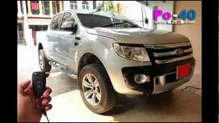Po-40 : Remote Control Auto Side Mirror : All New Ford Ranger 2012