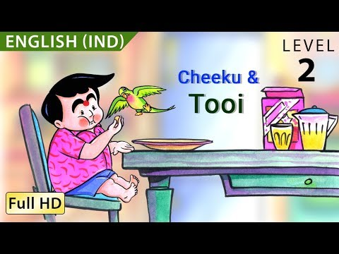 Cheeku & Tooi: Learn English With Subtitles - Story For Children bookbox video