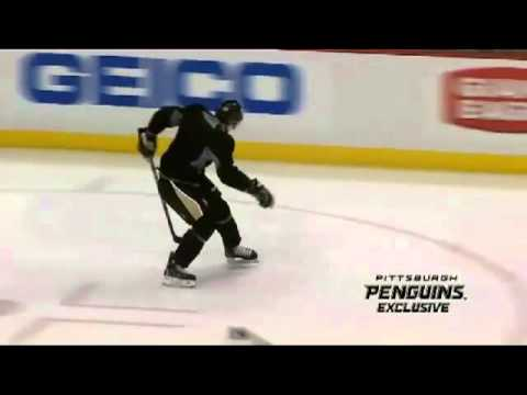 Sidney Crosby Practice Highlight Clips