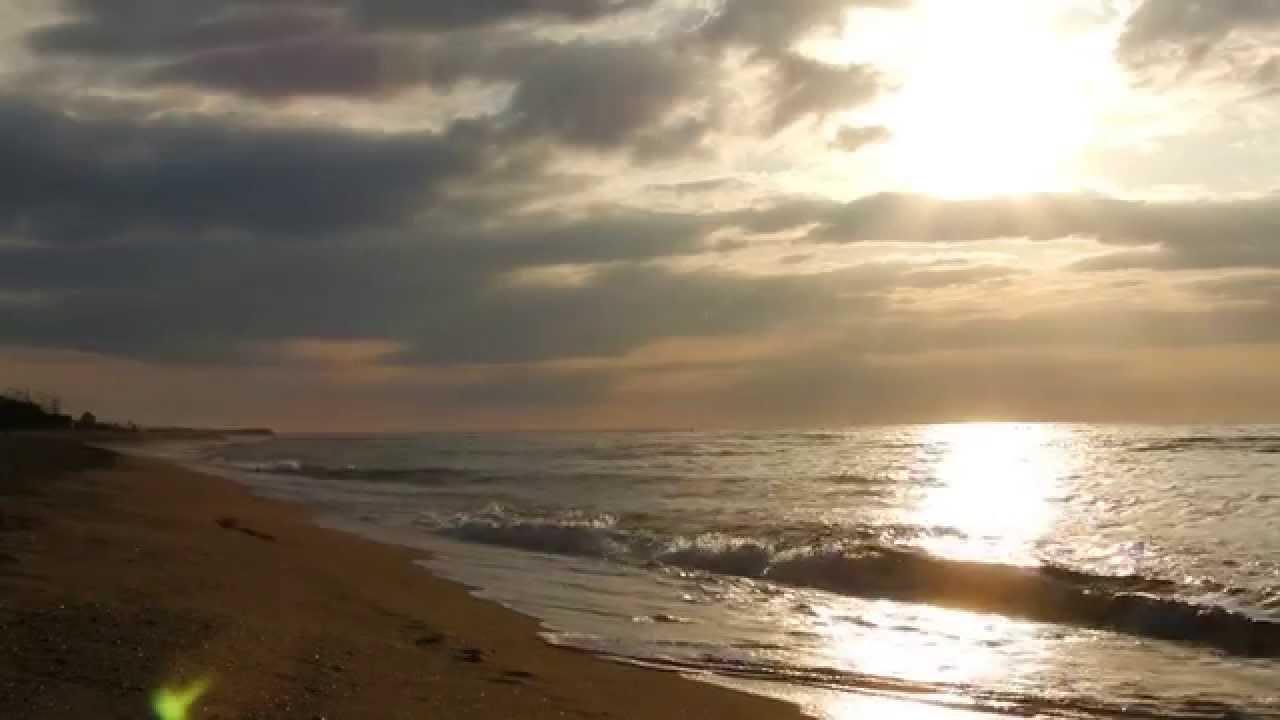 Ocean Sounds , Ocean Waves Sea Waves , Stunning Sunrise on ... Relaxing Music Youtube