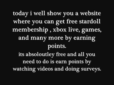 Stardoll free membership  100% working (superstar) xbox games second life/Many more