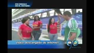 Junio 20 de 2012. Video porno inicialmente grabado en el Pascual Guerrero genera varias reacciones