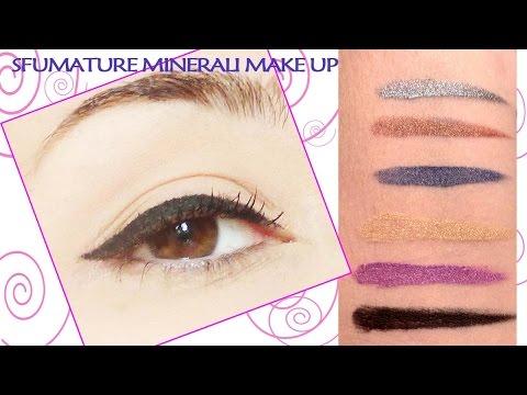 Crea i tuoi eyeliner  in crema 'fai da te' in 6 varianti di colore