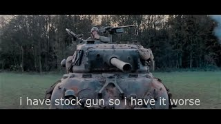 "If the movie ""Fury"" was a World of Tanks battle"