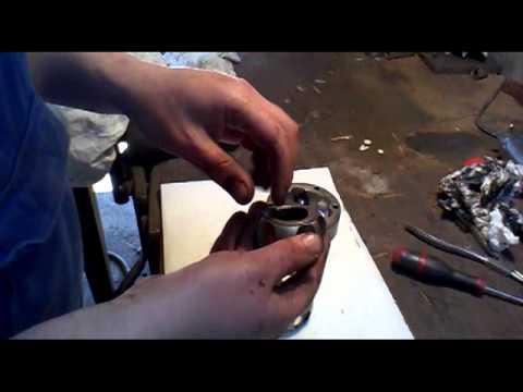 VW van rear CV joint overhaul and gearbox oil change