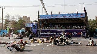 Gunmen kill at least 25 in military parade in SW Iran