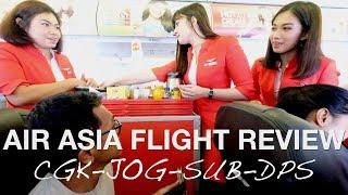 AIR ASIA INDONESIA REVIEW : CGK-JOG-SUB-DPS