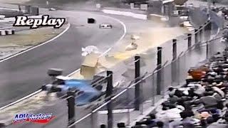 Akihiko Nakaya Big Crash 1992 All Japan F3000