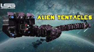 Space Engineers - Alien Space Ships, Tentacles & Probing Devices