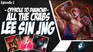 ALL THE CRABS ARE MINE ON LEE SIN! - OffRole to Diamond - Ep. 2 | League of Legends