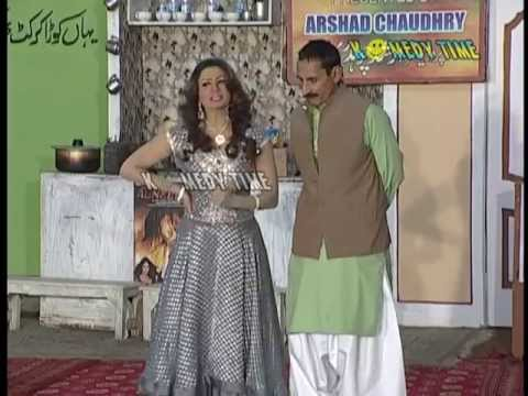 Jhoome Naache Gayee  New Pakistani Punjabi Full Latest Stage Drama November 2013