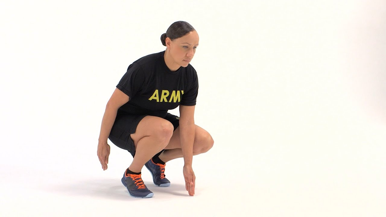 This exercise requires advanced levels of  movements skill and aerobic endurance. Here is break down of this exercise  as it would be conducted in a formation at sloow cadence. #ACFT #ArmyFit