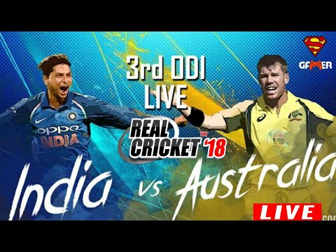 IND V AUS (REAL CRICKET 18) STREAM  || NEW UPDATE SPECIAL