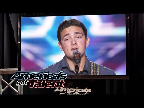 "Jaycob Curlee: Cute Singer Dedicates ""Free Fallin'"" Cover to Mom - America's Got Talent 2014"