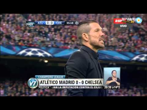 Visión 7: Champions League: Atlético Madrid 0-0 Chelsea