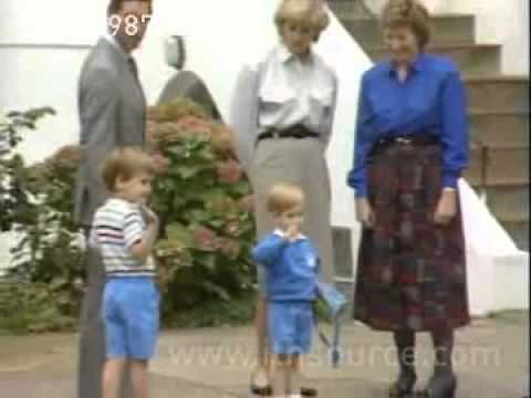 Prince Harry's 1st day at school
