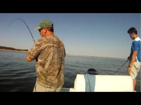 Fishing Lake Lewisville Saturday November 3, 2012 with PittState GasPasser James Bon