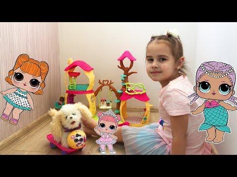 Нельзя быть ЖАДИНОЙ  Как поссорились Алина и Юляшка из-за куклы ЛОЛ