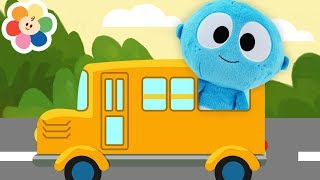 The Wheels On The Bus | Baby First Toys for Kids + More Nursery Rhymes Songs for Children & Babies