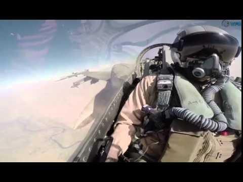 UAE's F-16 flights strike Daesh group's oil refineries