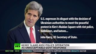 US 'disgusted' with Ukraine's govt, crackdown on OWS forgotten?  12/11/13