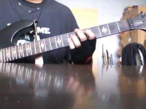 The Cro-magnons - Totsugeki Rock guitar cover