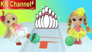 Đồ chơi trẻ em Bowling Game Búp bê Baby chơi bowling ngày Noel Toy review