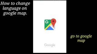 Categorias de vídeos How to change google map language on