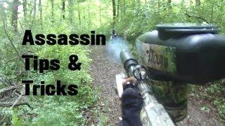 Paintball Sniper Assassin Ninja Tips & Tricks Scenario Woodsball COD Trails of Doom HD