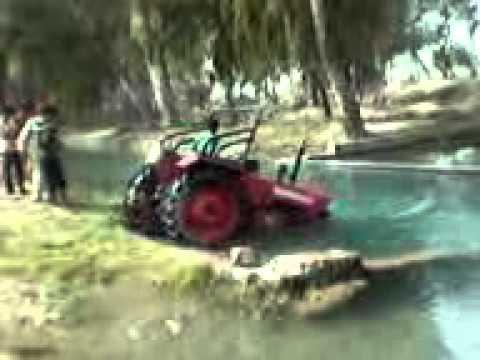 Tractor Stunt video