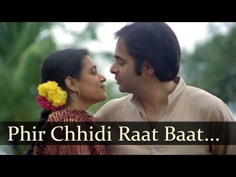 Phir Chhidi Raat Baat Phoolon Ki Raat Hai - Talat Aziz - Lata Mangeshkar