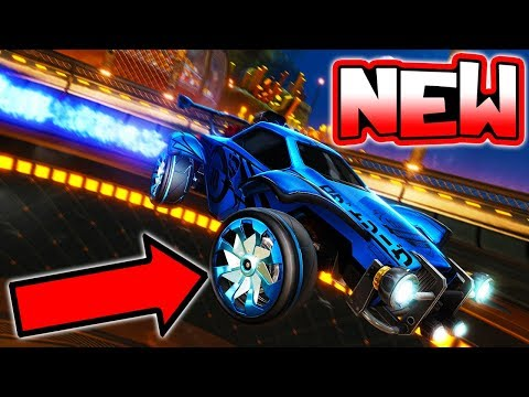 """NEW """"EXCLUSIVE"""" ITEM COMING TO ROCKET LEAGUE!! ( Rare Wheels - RLCS News )"""
