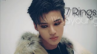 ATEEZ Wooyoung - 7 Rings [FMV]