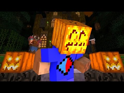 Minecraft Mini-Game: HALLOWEEN HORROR with Vikkstar & JeromeASF