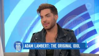 Adam Lambert: Audience Questions | Studio 10