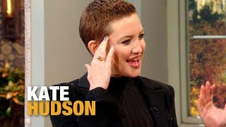 This Singer Asked Kate Hudson to Shave Her Head (And Then Helped Her Do It!) | Rachael Ray Show