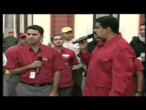 Nicolas Maduro amenaza a CNN
