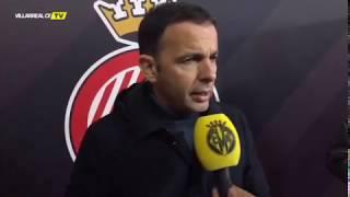 Javi Calleja - Zona mixta Girona FC