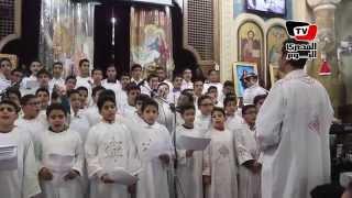 كنيسة العذراء بمسرة تحتفل برأس السنة الميلادية