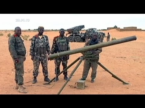 Mali, French seek allies