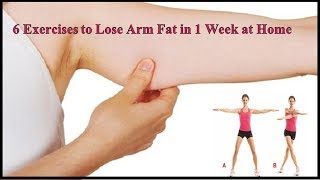 6 Exercises to Lose Arm Fat in 1 Week at Home