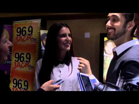 Interview With Vinay Virmani And Isabel Kaif Of Dr. Cabbie Fame video