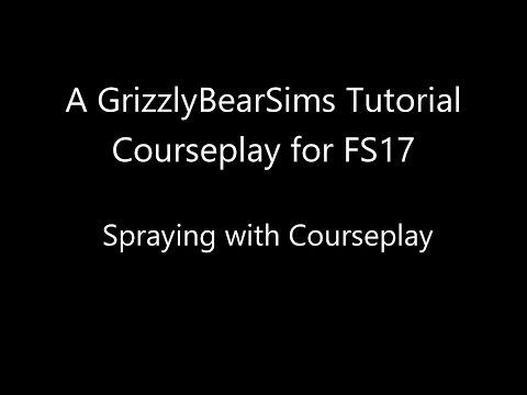 Farming Simulator 17 - GBS Tutorials - Spraying with Courseplay
