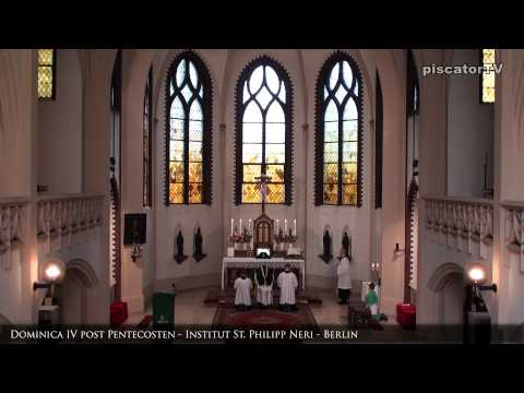 Dominica IV post Pentecosten 01 Introitus - Traditional Latin Mass