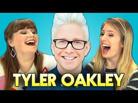 TEENS REACT TO TYLER OAKLEY thumbnail