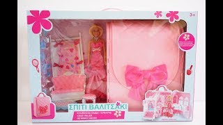 Deluxe Doll Bedroom Girl's play House Toy