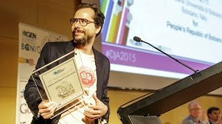 Data Journalism Awards Ceremony 2015 — CosmoCaixa, Barcelona